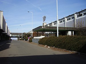 Stadion Evžena Rošického - Outside of stadium from Diskařská street