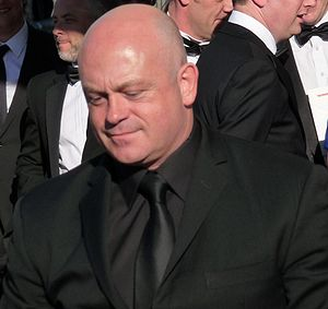 Sharon Watts - 25.3 million viewers watched Grant (Ross Kemp, pictured) discover Sharon's affair with his brother Phil.