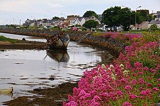 Rosses Point Peninsula and village in County Sligo, Ireland