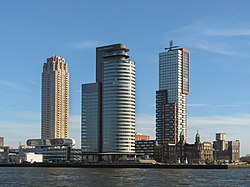 World Port Center, Montevideo, and hotel New York