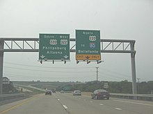W Chester Bypass Route 322 Business (West Chester, Pennsylvania)