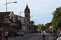 Route de Fronton, le centre d'Aucamville.jpg