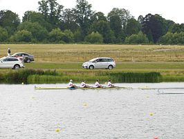 Rowing at the 2012 Summer Olympics – Men's quadruple sculls, Final A (2).JPG