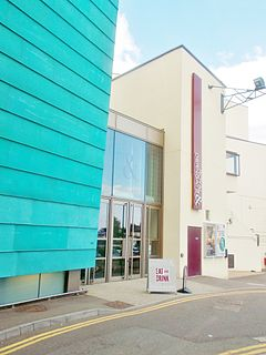 Royal & Derngate theatre and performing arts centre in Northampton, England