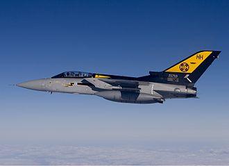 No. 111 Squadron RAF - A Tornado F3 of No. 111 Squadron