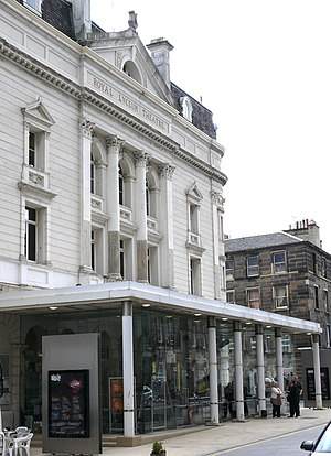 John Le Mesurier - Royal Lyceum Theatre in Edinburgh, where Le Mesurier appeared in numerous roles during 1938