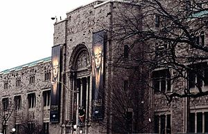 Royal Ontario Museum - East-facing façade of the Royal Ontario Museum, built in 1933.