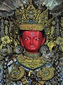 Rudra Varna Buddha ( Red Color) situated at Ruravarna Mahavihar which is a 1500 year old Buddhist monastery.jpg