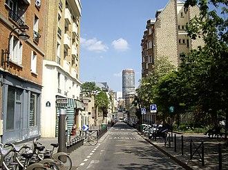 Émile Küss - Image: Rue Küss, Paris 13