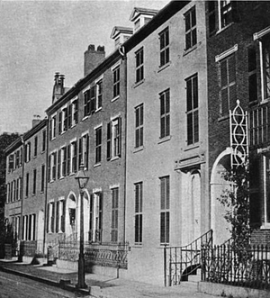 Rufus Choate - Image: Rufus Choate house 3Winthrop Place Boston