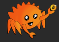 Rust Mascot Ferris Bitcoin Dark.png