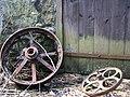 Rusty wheels - geograph.org.uk - 1303707.jpg