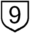 Ruta 9 paraguay sign.PNG
