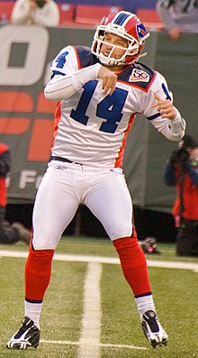Fitzpatrick with the Buffalo Bills in 2009