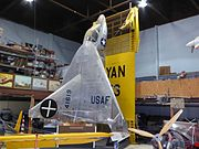 Ryan X-13 at the San Diego Air & Space Museum annex 1.jpg