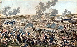 Battle in 1789, during the Russo-Turkish war