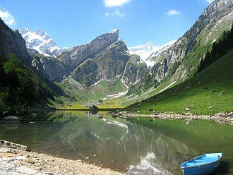 Appenzell Alps - Image: Säntis 03