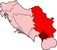 Socialist Autonomous Province of Kosovo of Socialist Serbia inside Socialist Yugoslavia, 1974-1990