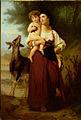 SA 1263-Jonge moeder in dracht der Campagna met kindje en geit.jpg