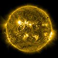 SDO's Ultra-high Definition View of 2012 Venus Transit - 171 Angstrom (7343985882).jpg