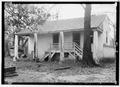 SLAVE QUARTERS - SOUTH ELEVATION. - Magnolia Grove, 1002 Hobson Street, Greensboro, Hale County, AL HABS ALA,33-GREBO,1-13.tif