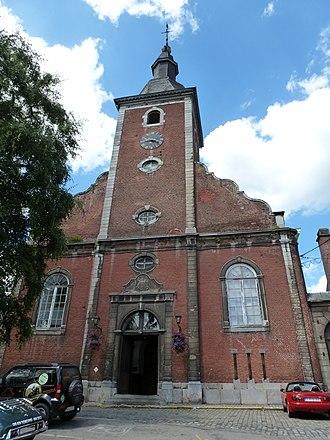 Stavelot - Image: STAVELOT église Saint Sébastien (1 2013)