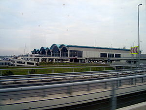 Sabiha Gökçen International Airport - Terminal building
