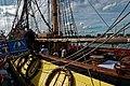 Sail Amsterdam - De Ruyterkade - View WNW on Frigate Shtandart 1703 - Replica 1999 the first ship of Czar Peter I's Baltic Fleet III.jpg