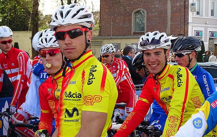 Saint-Amand-les-Eaux - Paris-Roubaix juniors, 12 avril 2015, départ (A46).JPG