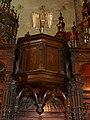 Saint-Bertrand-de-Comminges cathédrale jubé tribune.JPG