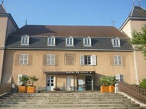 Saint-Bonnet-de-Mure - The town hall in Saint-Bonnet-de-Mure