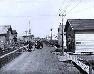 Saint-Bruno, Quebec - Saint-Bruno in 1906