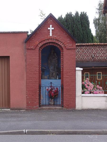 Saint-Simon (Aisne) chapelle-oratoire