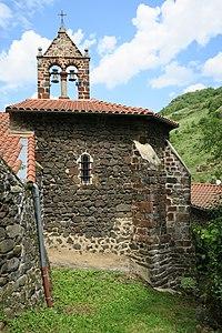 SaintJulienDesChazes ChurchStJulienBrioude SouthSideBellGableApse.jpg