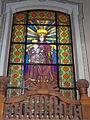 Saint Bartholomew church. Listed 5694. Stained glass 05. - Gyöngyös, Hungary.JPG