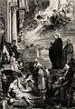 Saint Francis Xavier performing miracles; healing and Wellcome V0031987.jpg