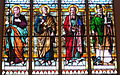 Saint Luke Catholic Church (Danville, Ohio) - stained glass, Saints Joseph, Peter, Paul, & Patrick.JPG