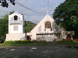 Saint Michael Archangel Church in Macrohon, Southern Leyte.jpg