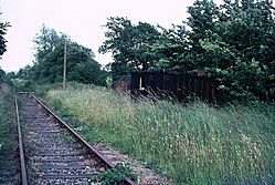 Salehurst Halt railway station (1970) 01.JPG