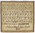 Sampler (Germany), 1842 (CH 18616667).jpg