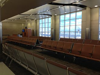 San Antonio International Airport - Typical Boarding area in Terminal A