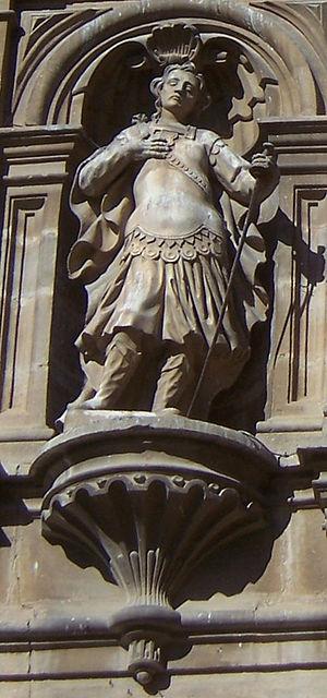 Emeterius and Celedonius - Statue of Emeterius, Cathedral of Santo Domingo de la Calzada, La Rioja.