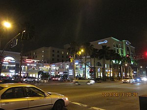 San Gabriel, California - A busy section of Valley Boulevard
