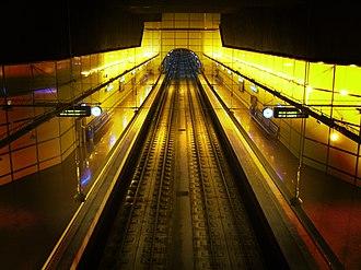 Euskotren Trena - Lugaritz station