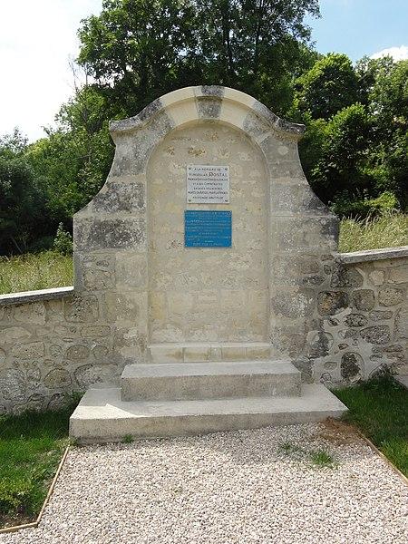 Sancy-les-Cheminots (Aisne) jardin de mémoire