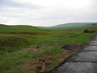 Sandhills (Nebraska) - Sand Hills near Bingham, May 2005