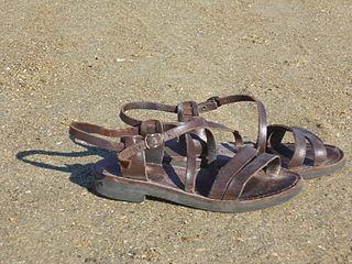 Sandal Type of footwear with an open upper