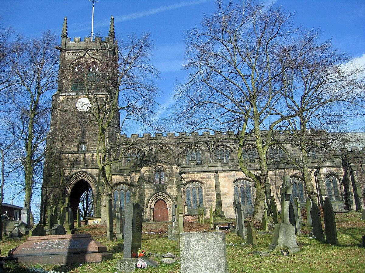 St Mary's Church, Sandbach - Wikipedia
