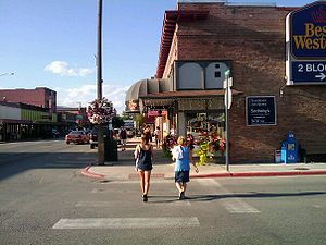 Sandpoint, Idaho - Downtown Sandpoint, ID