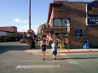 Sandpoint, Idaho City in Idaho, United States